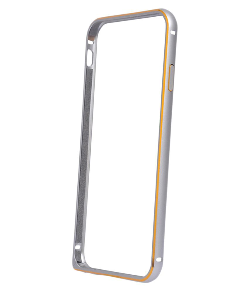 Samsung Galaxy S6 Edge Bumper Cover by Sami - Silver