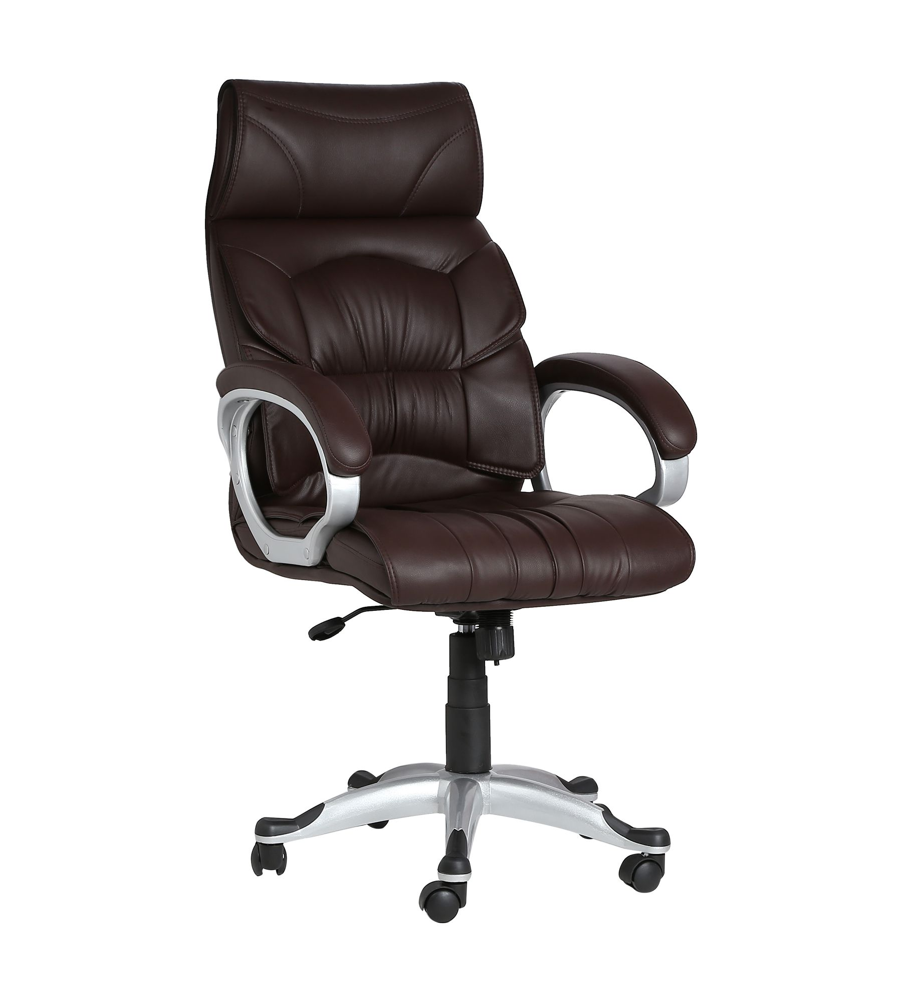 Doblepiel Executive High Back Brown Chair Buy Doblepiel Executive
