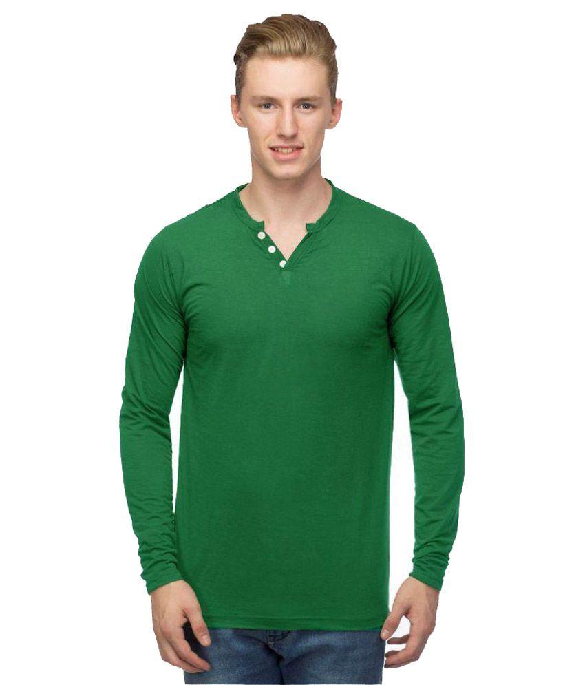 Martech Green Henley T-Shirt