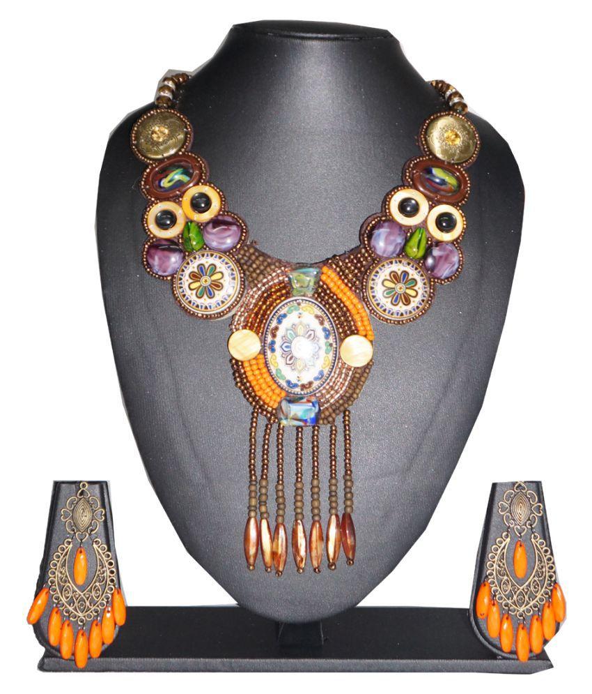 Furica Multicolor Necklace Set