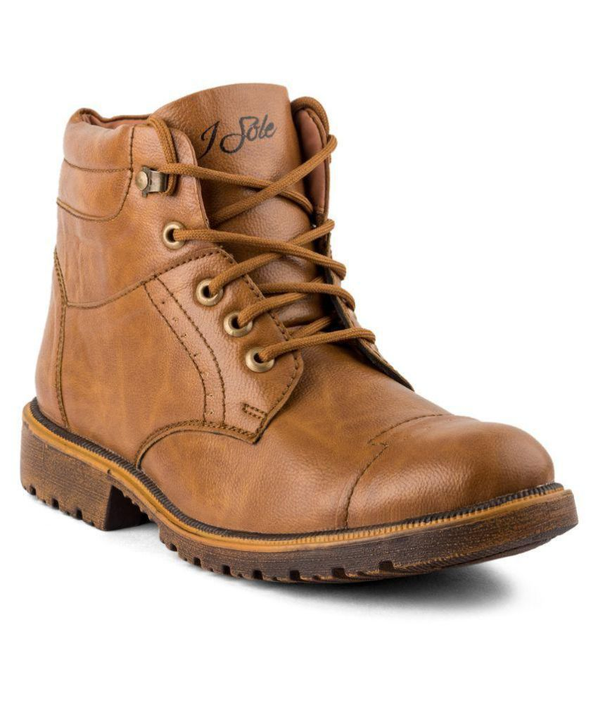 Isole Tan Casual Boot