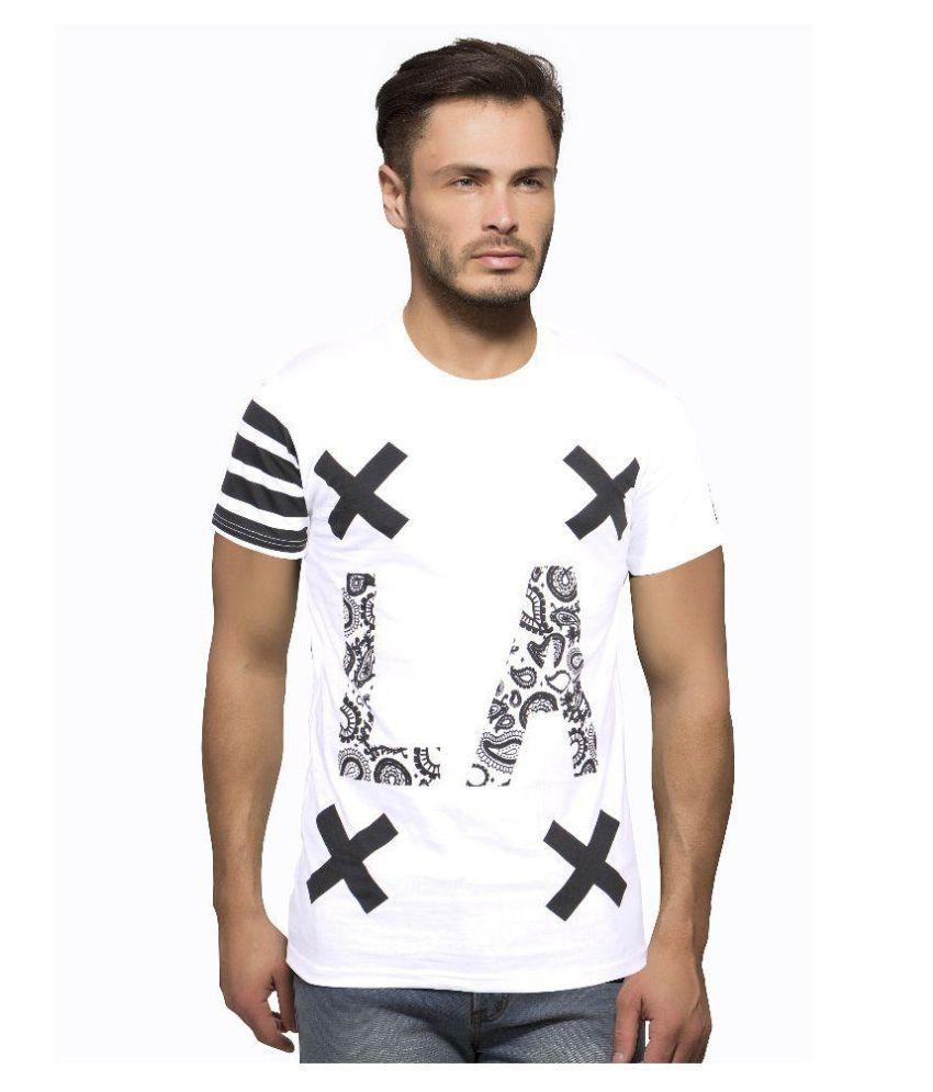 Getzen White Round T-Shirt