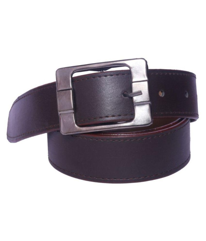 Oodi Brown PU Casual Belts