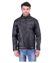 New Fashion Black Leather Jacket Jacket