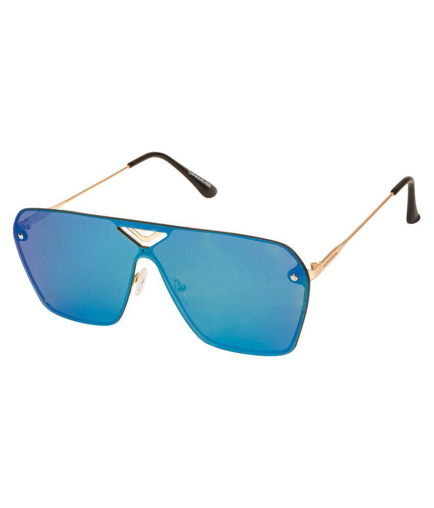 Danny Daze Blue Square Sunglasses ( D-2866-C5 )