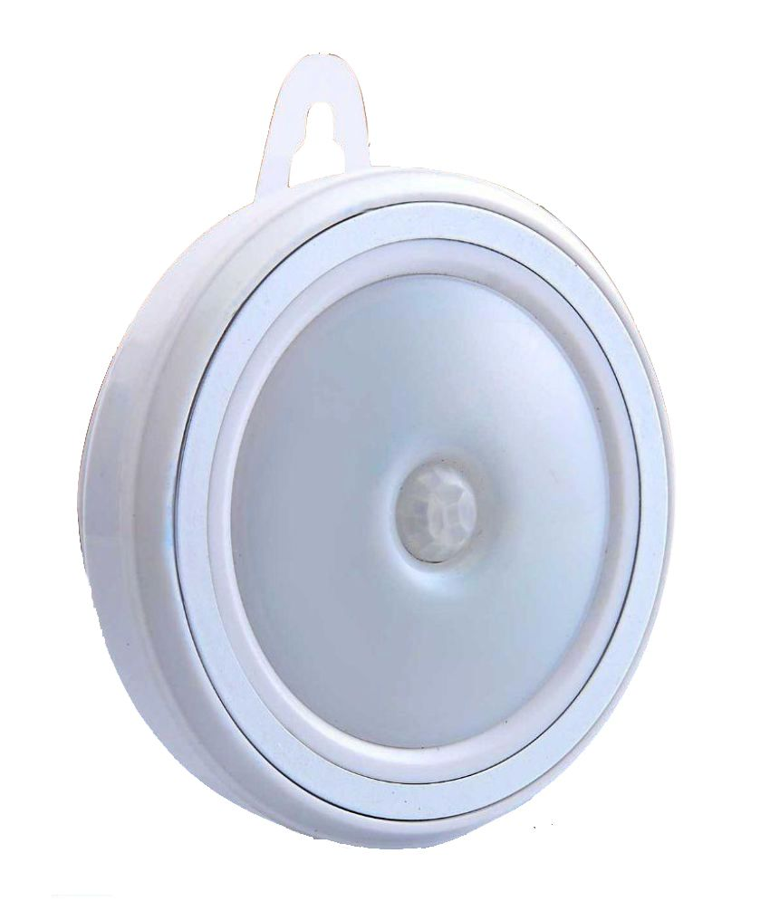 Happiesta Innovative Plastic White Multipurpose Sensor light