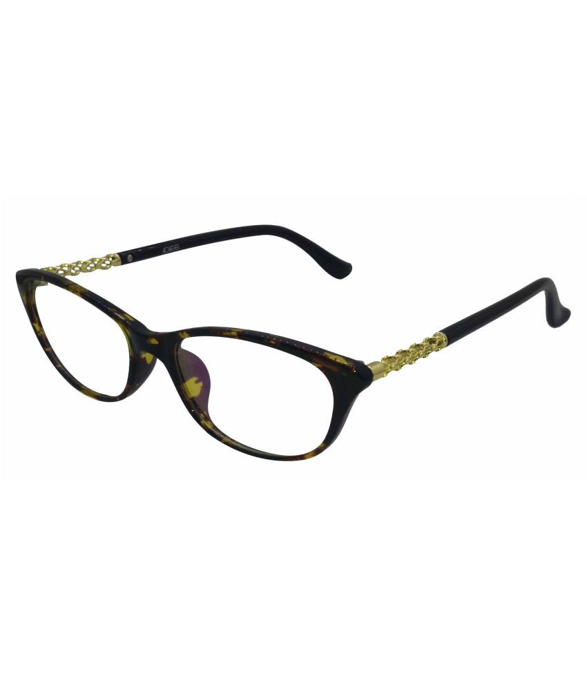 2354535c34 Idee Black Cateye Spectacle Frame 1356 C2 available at SnapDeal for Rs.1985