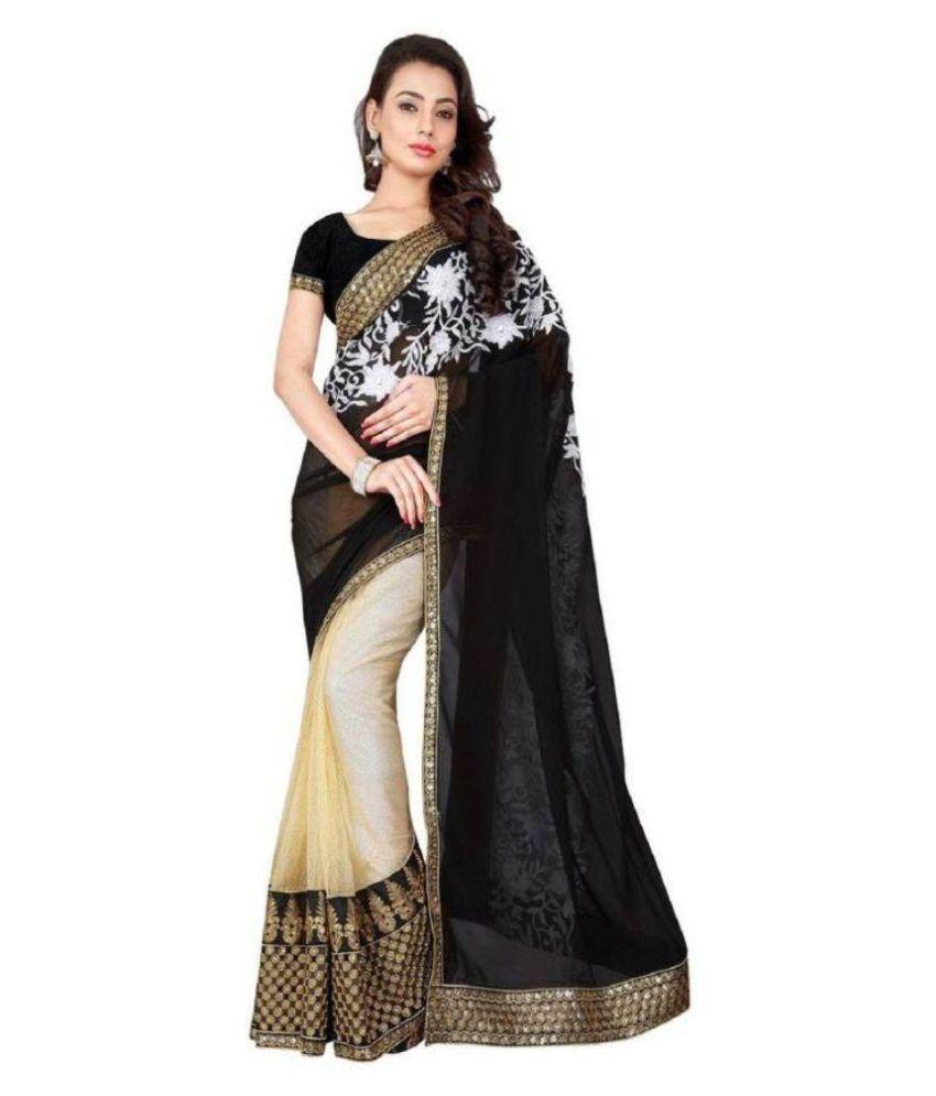 Manav Fashion Multicoloured Georgette Saree