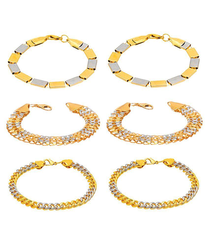 D&D Golden Bracelet - Set of 6