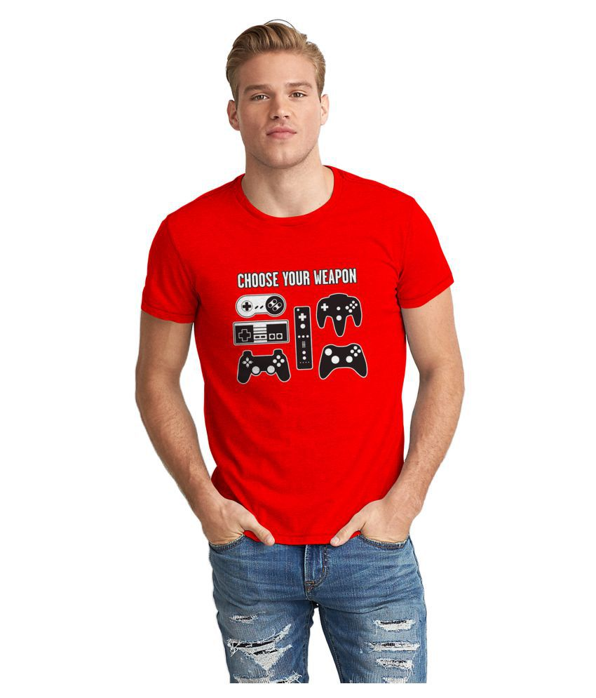 Dreambolic Red Round T-Shirt