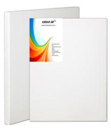 Eascan Art White Canvas Board - 24 X 30 Cm