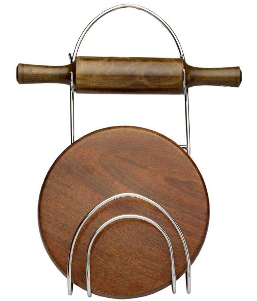 Navisha Wooden Rolling Pin 3 Pc