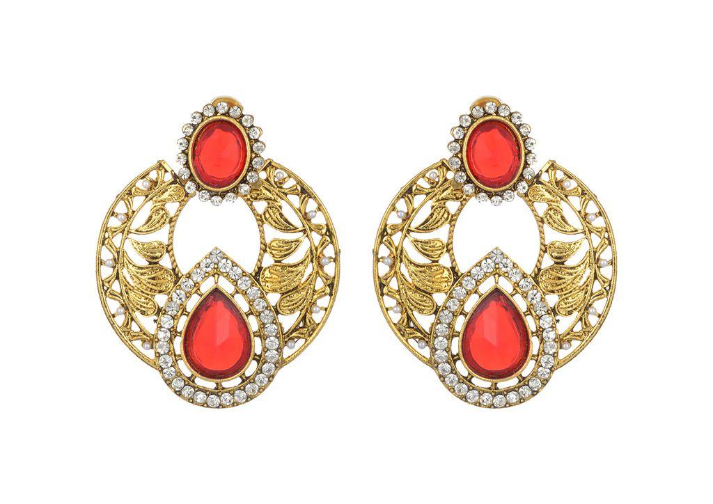Puushpa Creation Multicolor Earrings