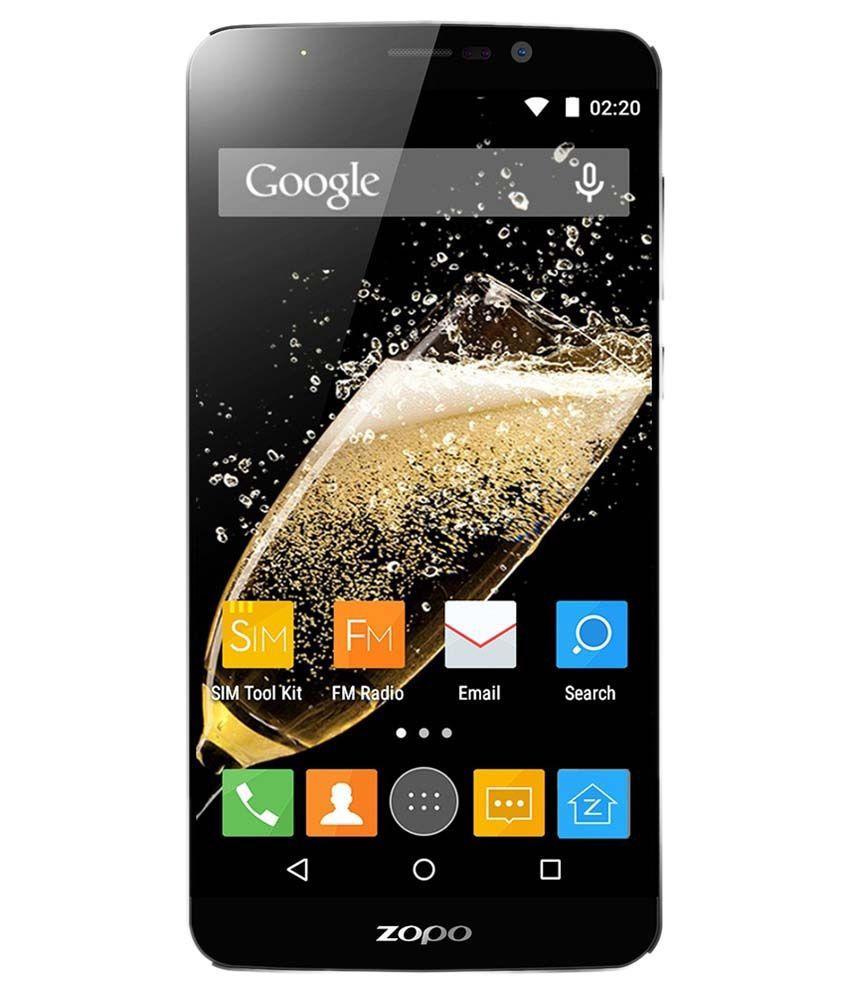 Zopo Speed 7+ ZP952 16GB Black with S10 Bluetooth Speaker & Selfie Stick