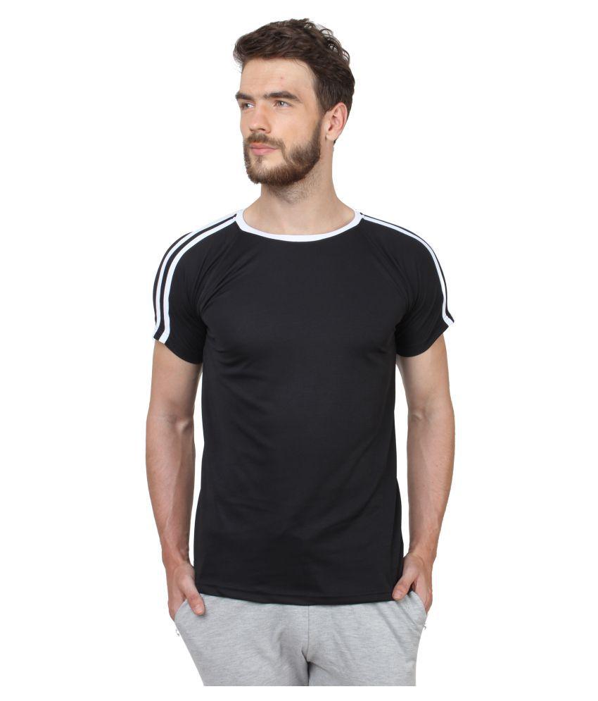 Hustle Black Round T-Shirt