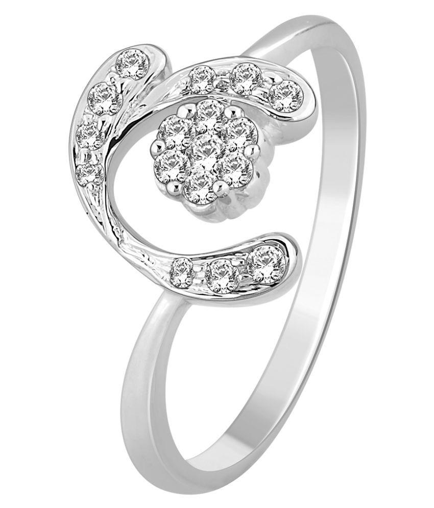 MyZevar 18k White Gold Ring