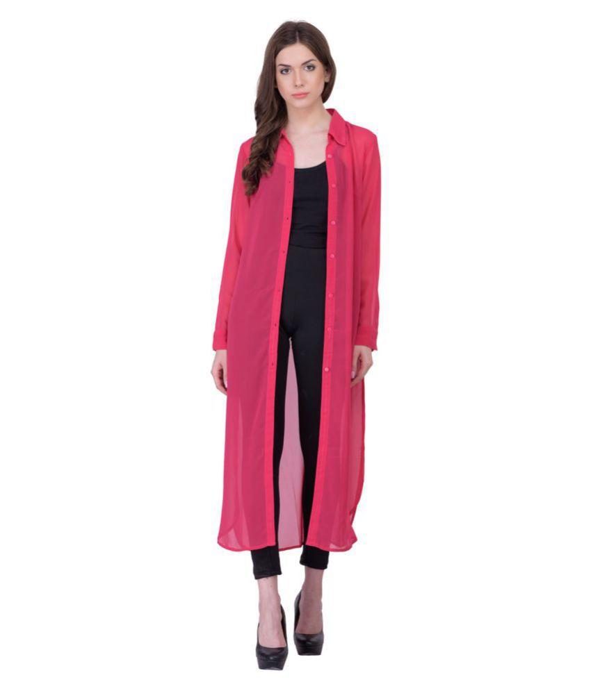 Rose Vanessa Pink Viscose Tunics