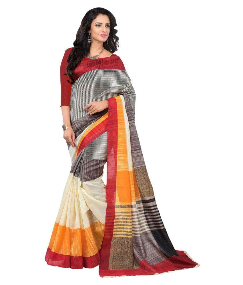 Varayu Multicoloured Banarasi Silk Saree