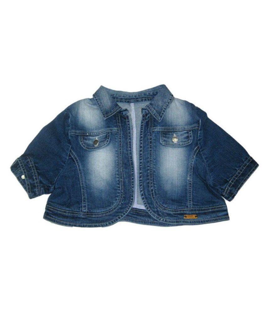 Carmino Casuals Blue  Denim Jacket
