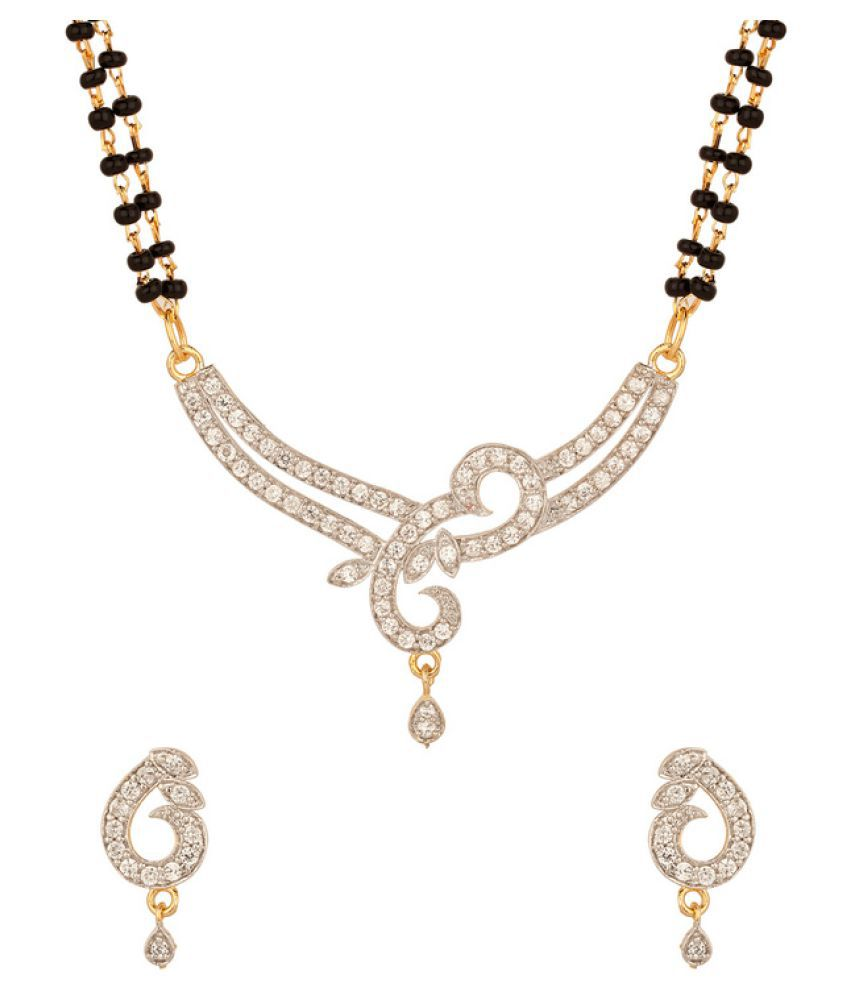 Navya Creations Golden Mangalsutra Set