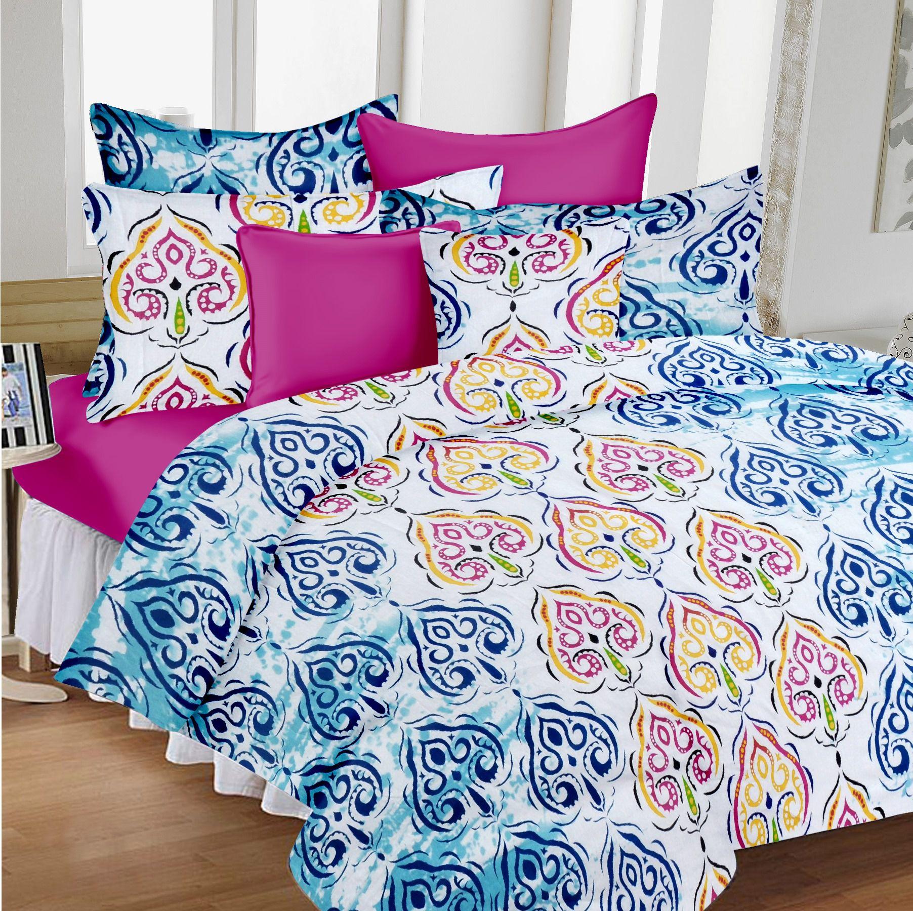 Divine Casa Pack 2 Cotton Double Bedsheets bo Buy