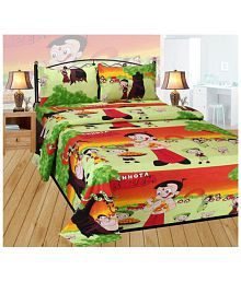 Quick View. Beleza Furnishing Double Cotton Cartoons Bed Sheet