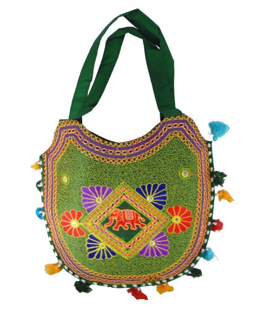 Shree Ganpati Plaza Multi Canvas Shoulder Bag