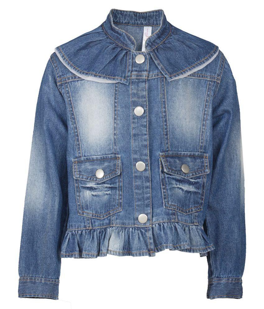 Naughty Ninos Blue Jacket for Girls