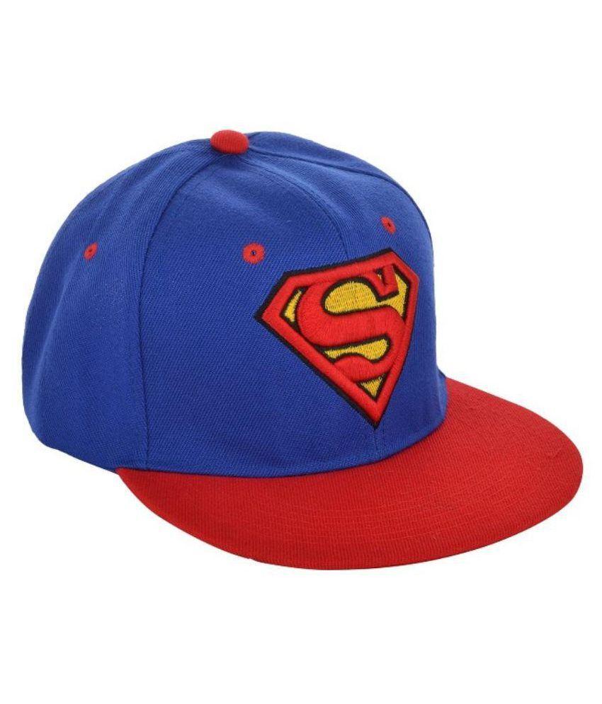 MINSKK Blue Cotton Hip Hop Cap