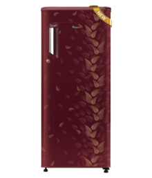 Whirlpool 190 LTR 205 IM POWERCOOL PRM 4S WINE FIESTA Single Door Refrigerator Maroon