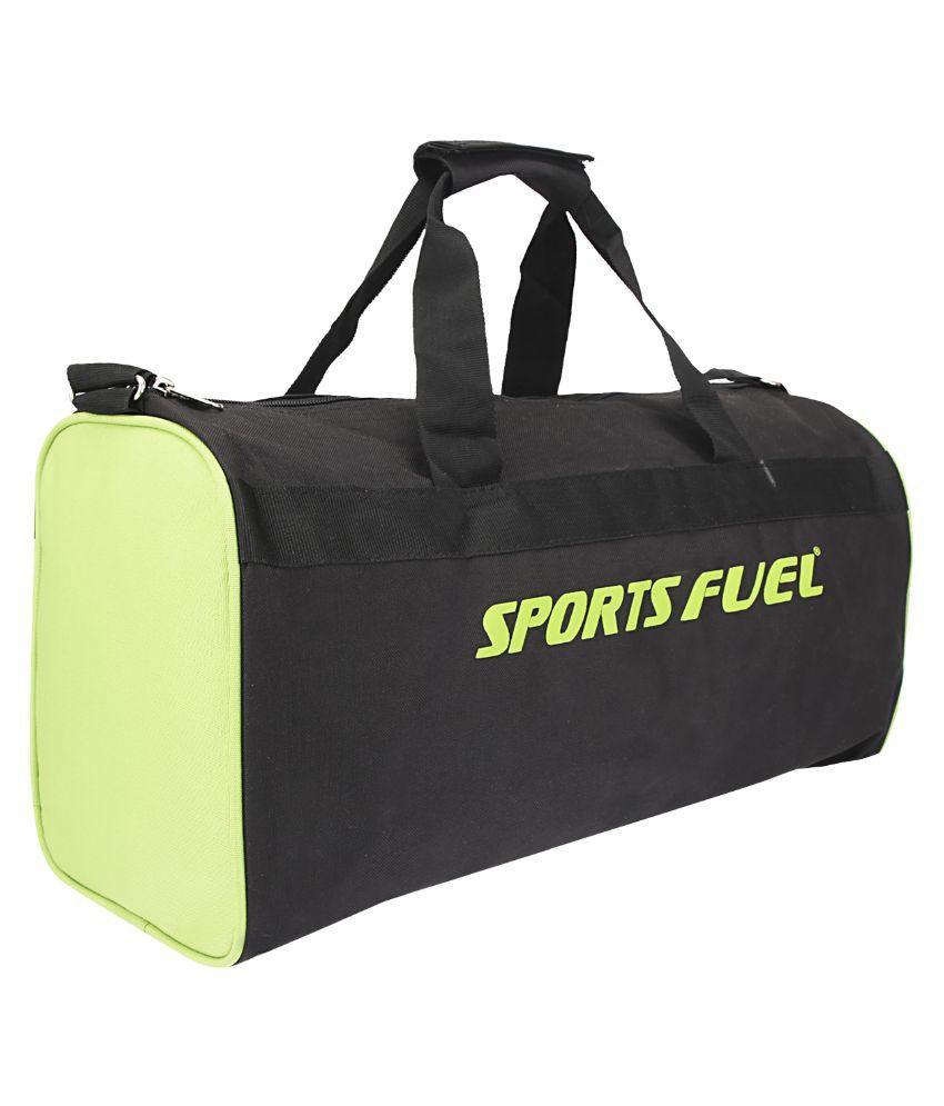 Sports Fuel Black Gym Bag