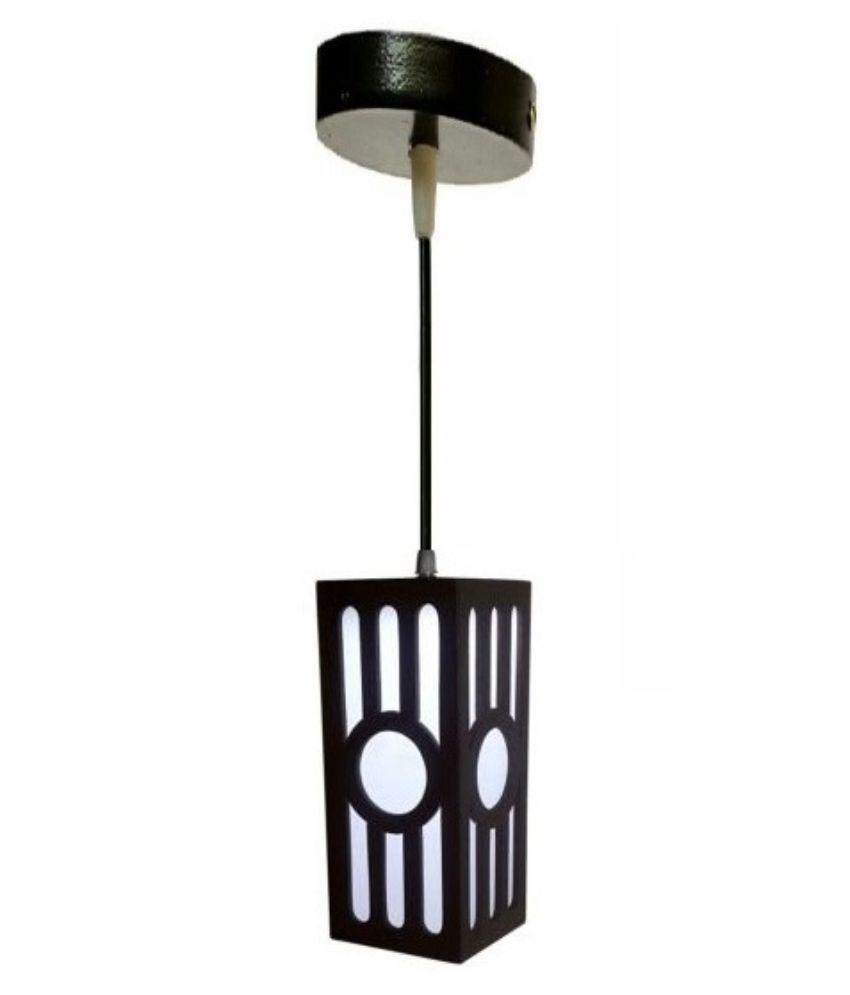 WhiteRay Wooden Hanging Lamp