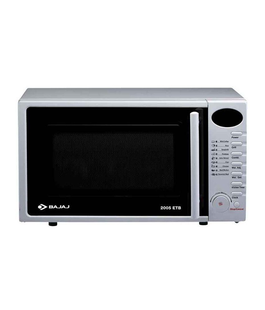 Bajaj 20 Ltr 2005etb Grill Microwave Oven Price In India