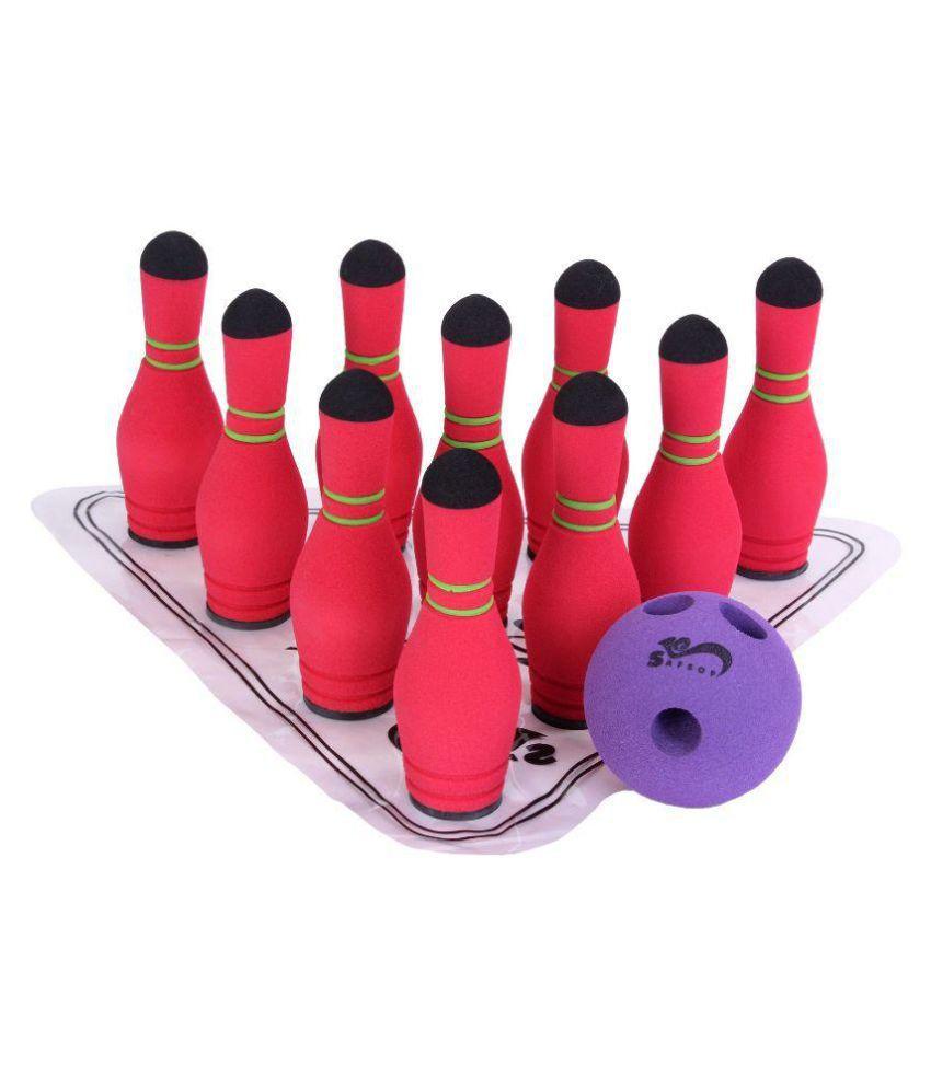SafSof Multicolour Mini Bowling