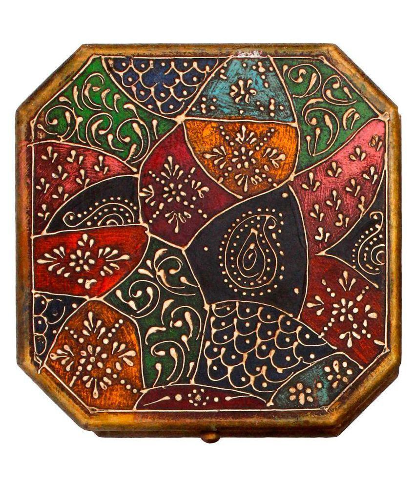 Yogya Mart Multicolour Wooden Jewellery Box