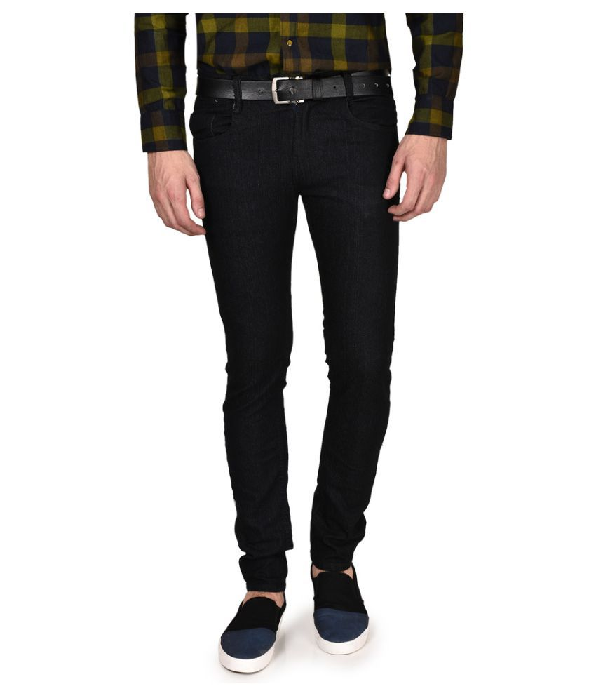 Routeen Black Slim Jeans
