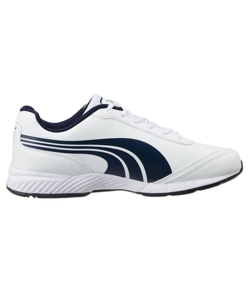 d6c6ae874302 Puma Roadstar XT II DP White Running Shoes - Buy Puma Roadstar XT II DP  White Running Shoes Online at Best Prices in India on Snapdeal