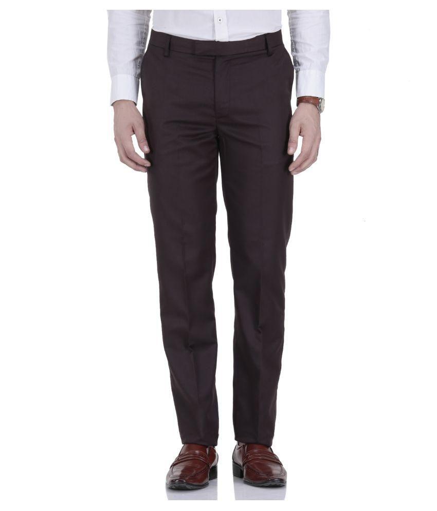 Roy Brown Slim Flat Trouser