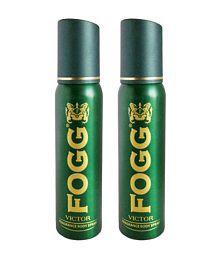 Fogg Victor Fragrance Men's Body Spray - Pack of 2 ( 120 ml )