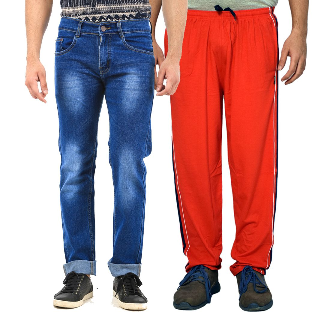 Van Galis Multicolored Regular Fit Washed