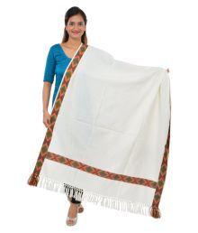 Ganpati Textiles Multicoloured Stripes Shawl