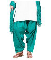 KURTI STUDIO Cotton Pack Of 2 Semi Patiala Salwar