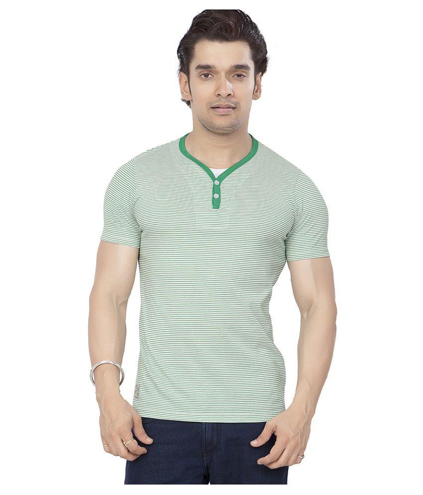 Bonaty Green Henley T-Shirt