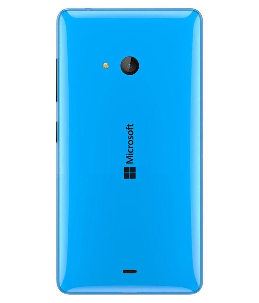 wholesale dealer 78f1a 17975 Microsoft Lumia 540 Back Panel By Shinestar-Blue