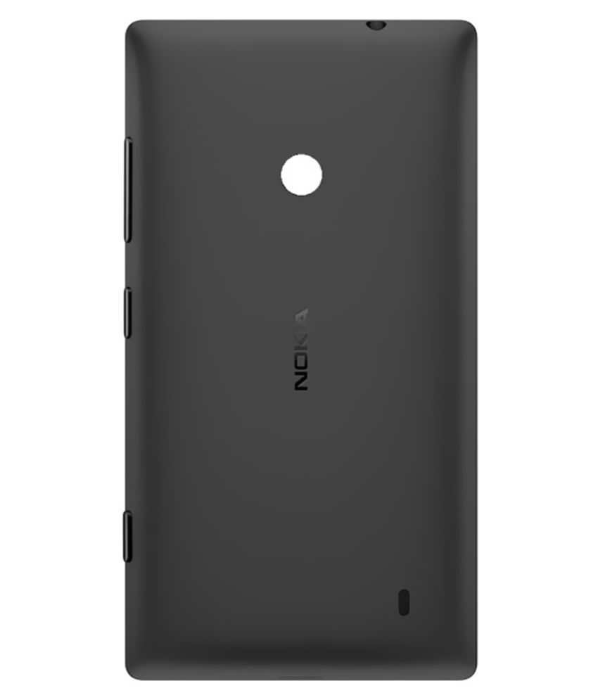 hot sale online bf1db f3a8a Nokia Lumia 525 Replacement Back Panel by Shinestar - Black