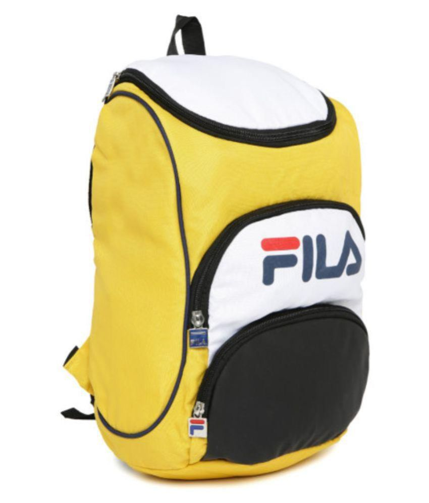 Fila Yellow Backpack - Buy Fila Yellow Backpack Online at Low Price ...