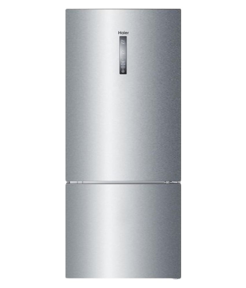 Haier 450 Ltr Hrb 475ss Double Door Refrigerator Stainless Steel