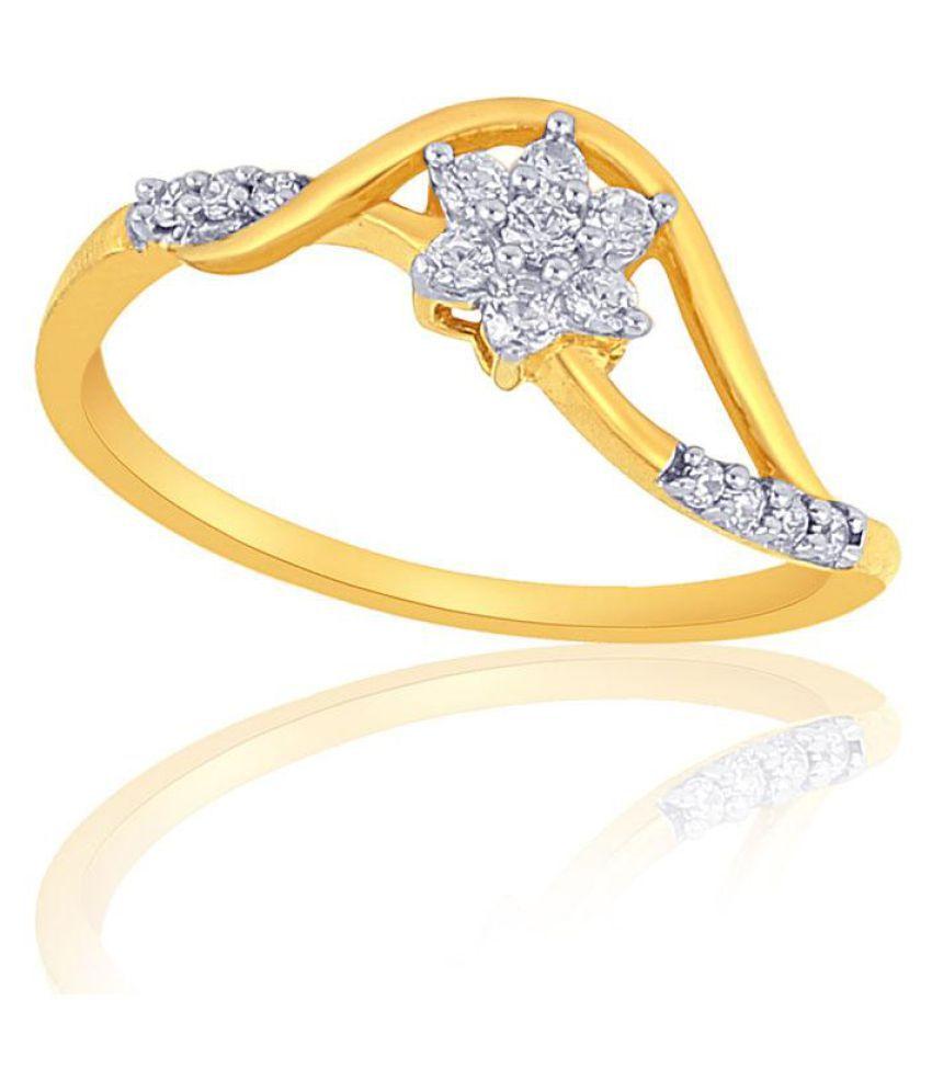 Nakshatra 18k Yellow Gold Ring