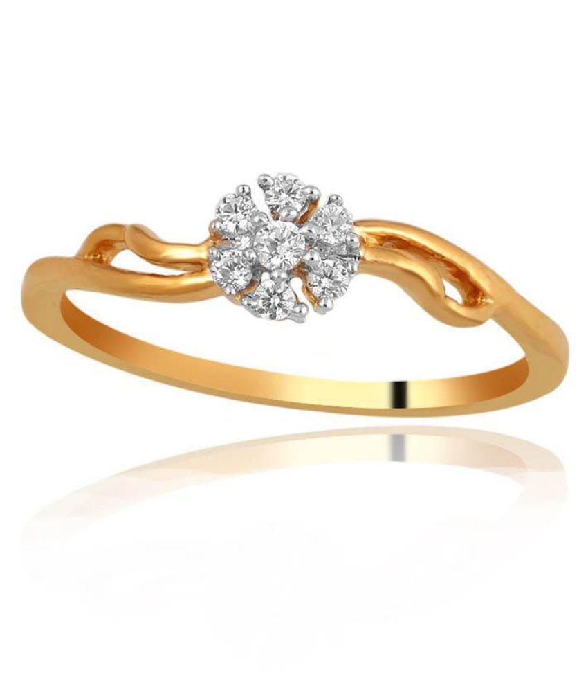 Shuddhi 18k Yellow Gold Ring