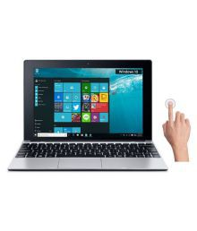 Acer One S1001-19P0 (2-in-1) Laptop (Intel Atom- 2GB RAM- 32GB EMMC- 25.65 Cm (10.1) Touch- Windows 10) (Silver)